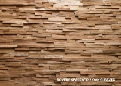 Angolo caminetto assemblando elementi legno