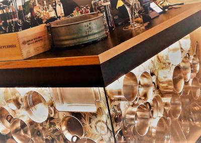 Bistrot MaMa - Restyling locale con tavole in abete e pannello Egger (7)