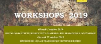 Restyling e rinnovo di locali e strutture ricettive: il workshop
