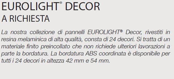EUROLIGHT® DECOR - SPECIFICHE