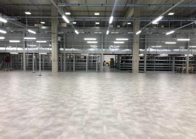 Capannone industriale – pavimentazione